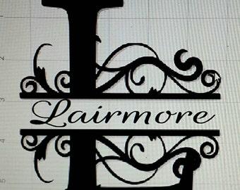 Name monogram initial