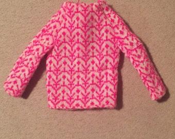 Vintage Francie little knits top 1972