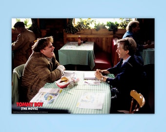"""Tommy Boy Poster, """"Street Smarts"""", Chris Farley, Officially Licensed, Tommy Boy, Movie Poster"""