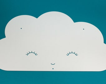 Cloud shape magnet board