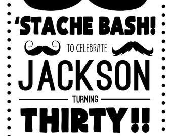 Mustache Bash!