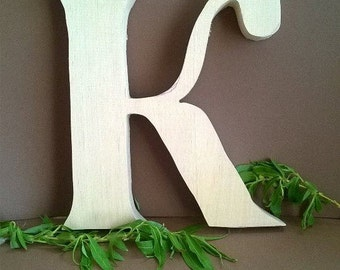 free standing wooden letters wooden letter k wedding decoration valentines day gift