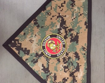 US Marine Corp Dog Scarf