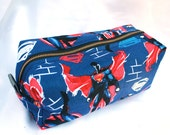 Toiletry Bag - Superman- Dawn of Justice - Man of Steel- School Supplies - Pencil and Electronics case- Graduation Gift