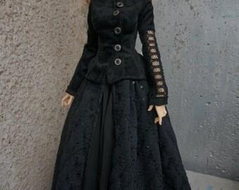Duchess dress set for BJD Fairyland Feeple65 dolls