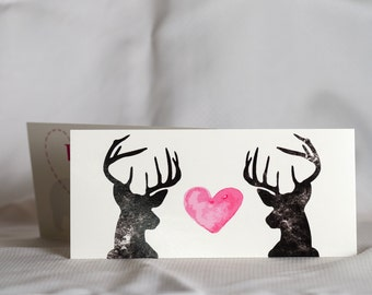 Valentine's Day Card- DEER