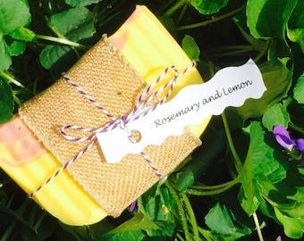 Handmade Rosemary and Lemon