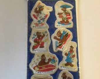 ALF Puffy Stickers by Russ Berrie 1987