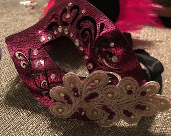 Homemade Masquerade mask