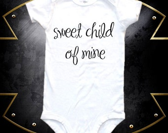 Cute baby rock and roll band baby bodysuit,  one-piece shirt