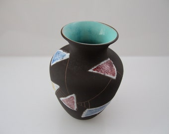 Amazing vase by Ruscha - Decor Marokko Marocco mid century - West German Pottery - Welling