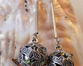 Handmade Oriental style earrings
