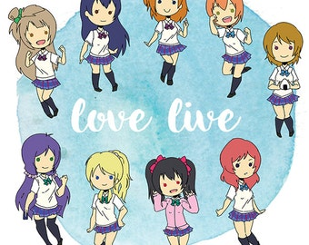 Love Live Stickers
