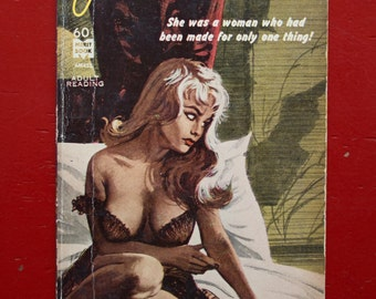 Jinx Broad - adult pulp novel  by Jerry M. Goff Jr - 1964