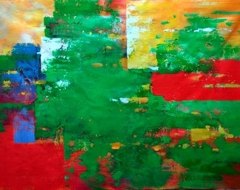 Original Abstract in sizes of 24x36inches