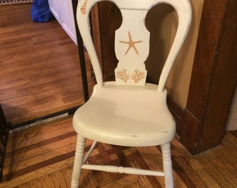 Starfish vintage chair