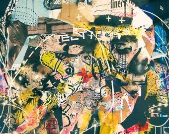 Torn Posters Wallpaper
