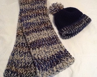 Youth Scarf and Hat