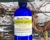 Cedarwood Cypress organic lotion
