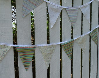 CandyStripes & spots bunting