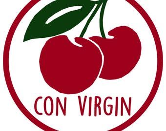 Con Virgin Badge (Plain)