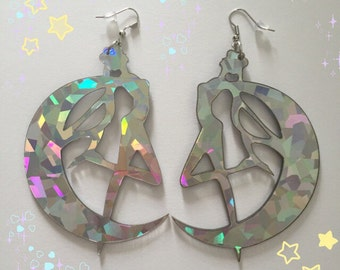 Large Sailor Moon earings