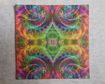 "Blotter Art ""Fractalization"" LSD Collection Perforated Paper Acid Free"