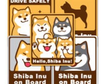 Shiba Inu Car Decal / Bumper Sticker