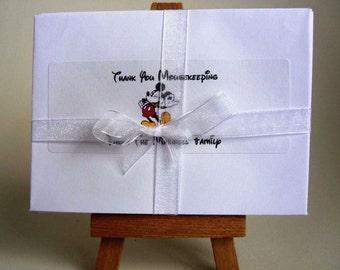 Personalised Mousekeeping Envelopes - Set of 14