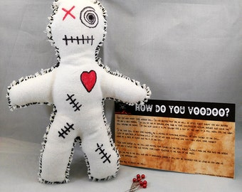 Voodoo Doll Creepy Doll Scary Doll Witchcraft Curses Hexes
