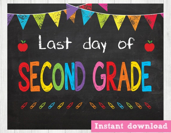 Stupendous image inside last day of 2nd grade printable