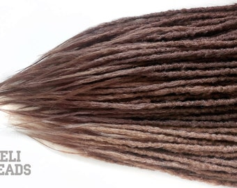 40 DE Dreads, crochet natural style, dreadlocks, synthetic dreads, ombre dreads, FREE SHIPPING.