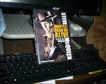 wanted dead or alive season one vol. 1- dvd