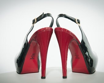 "Leather fetish sandals  fetish BDSM colours sizes ""Martina"""