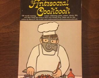 The Antisocial Cookbook - Vintage Cookbook (1968)