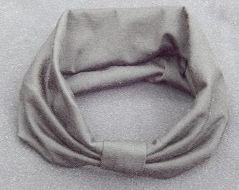 Wide Center Knot Turban Headband