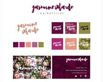 Premade Brand   Branding   Predesigned Brand   Feminine Brand   Premade Logo   Premade Business Card   One of a Kind OOAK Brand