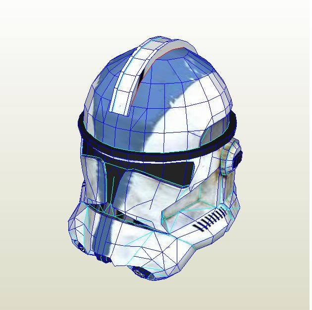 how to make a star wars clone helmet