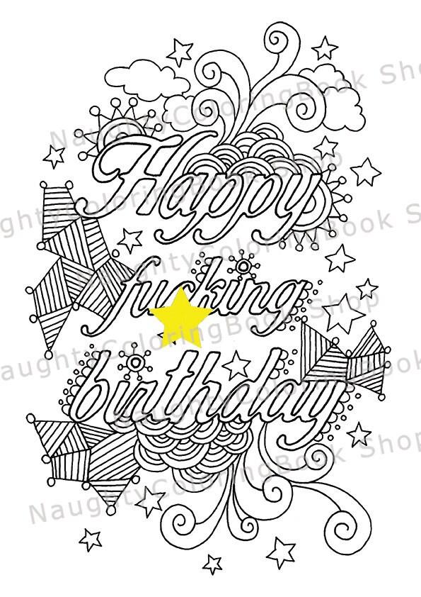 21st Birthday Happy Fcking Gift
