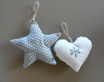 Star and heart