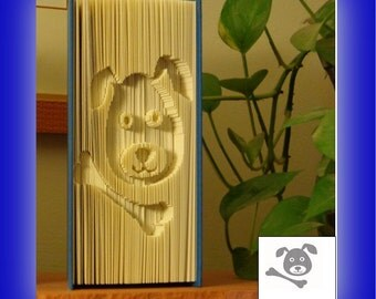 """Cut-N-Fold Book """"Puppy With Bone"""""""