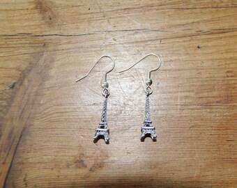 Eiffel Tower Earings