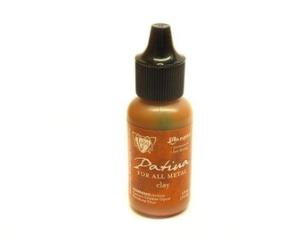 Ranger Vintaj patina clay Brown earthy colours 15ml bottle