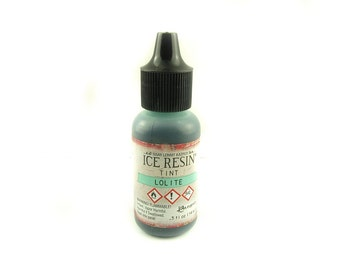 14 ml - resin Color Turquoise 1 ice resin tint Lolite
