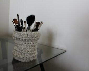 Handmade Crochet Storage Cup Basket