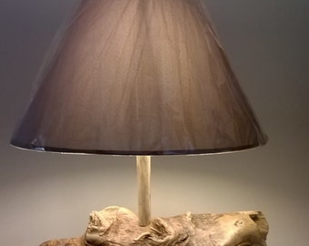 Lamp to ask crafted Driftwood