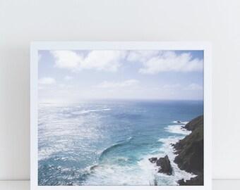 Coastal Wall Art, Nautical Artwork, Beach Prints, Summer Printable, Ocean Poster, Ocean Home Decor, Sea Poster, Sea Photography, Beach Photo