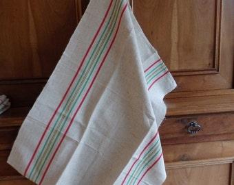 4 towels linen/cotton