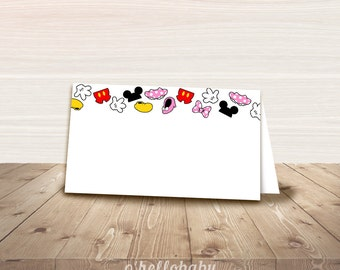 printable disney food tent cards food labels baby shower place cards disney party