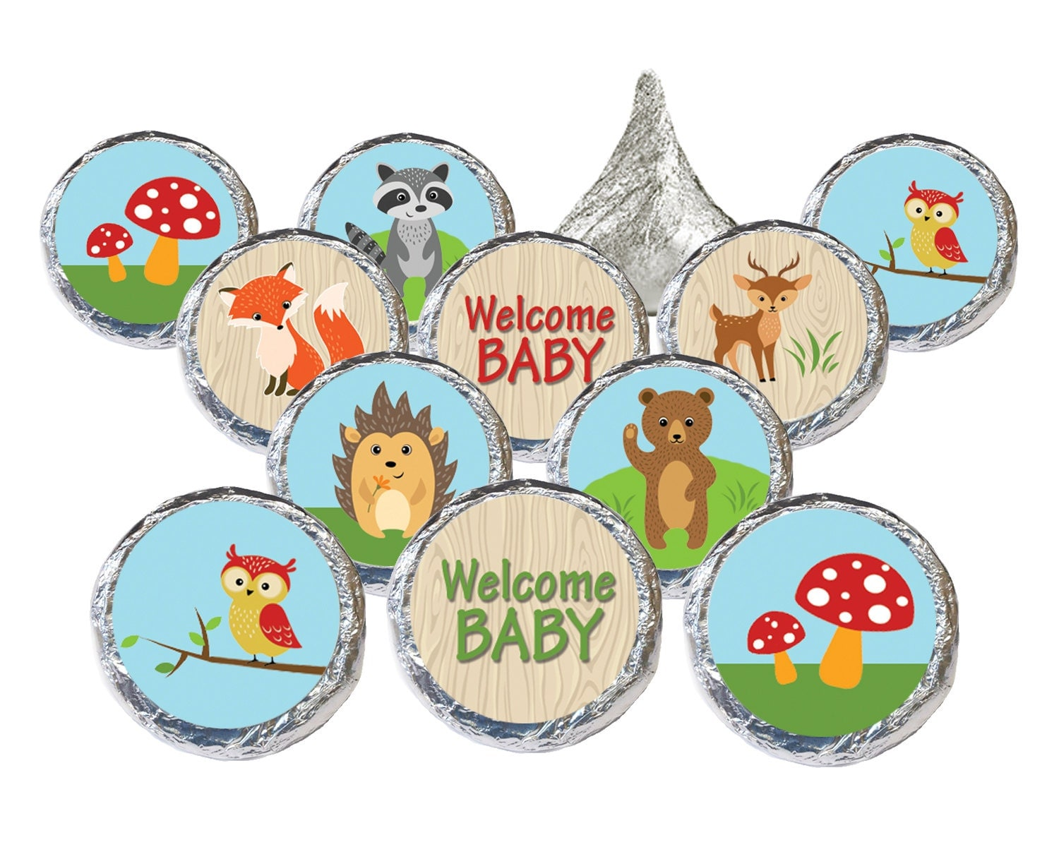 woodland animals baby shower favors woodland by distinctivs